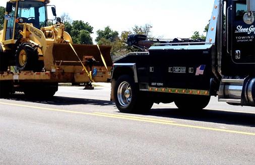 heavy duty towing service