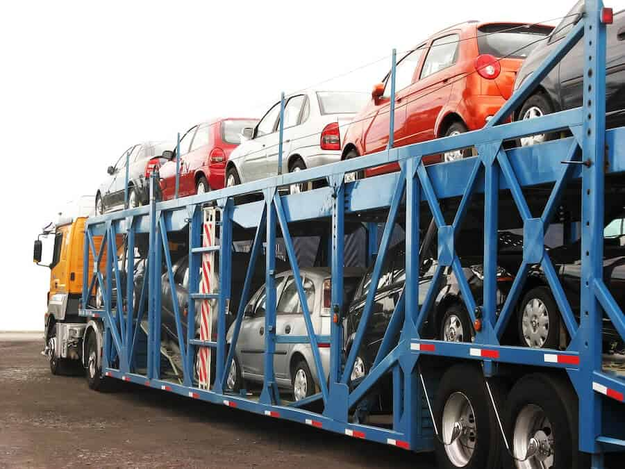 car transport in geyer's towing