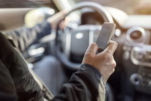 driving using cell phone