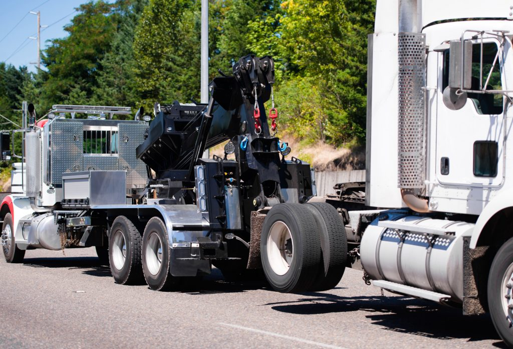 heavy duty towing safety measures