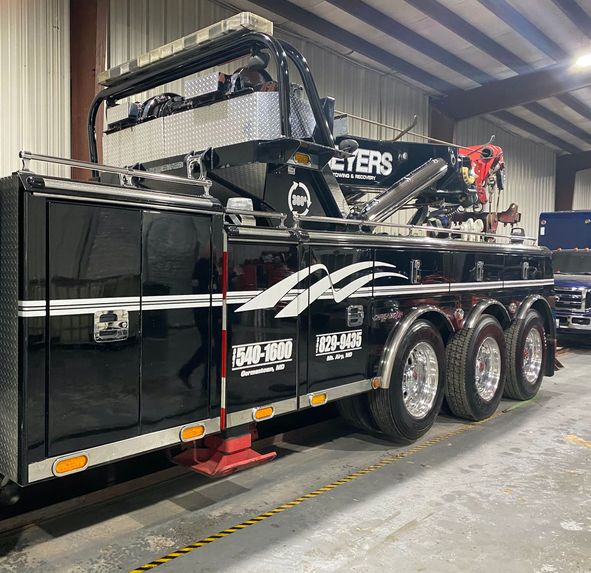 Geyers Heavy duty truck rig