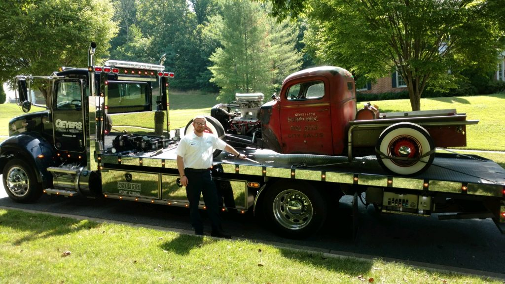 classic car towing for vintage vehicles
