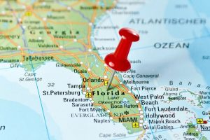 map of florida as a destination for snowbirds