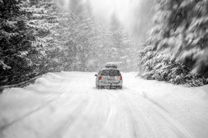 Winter Driving Safety when driving in snow