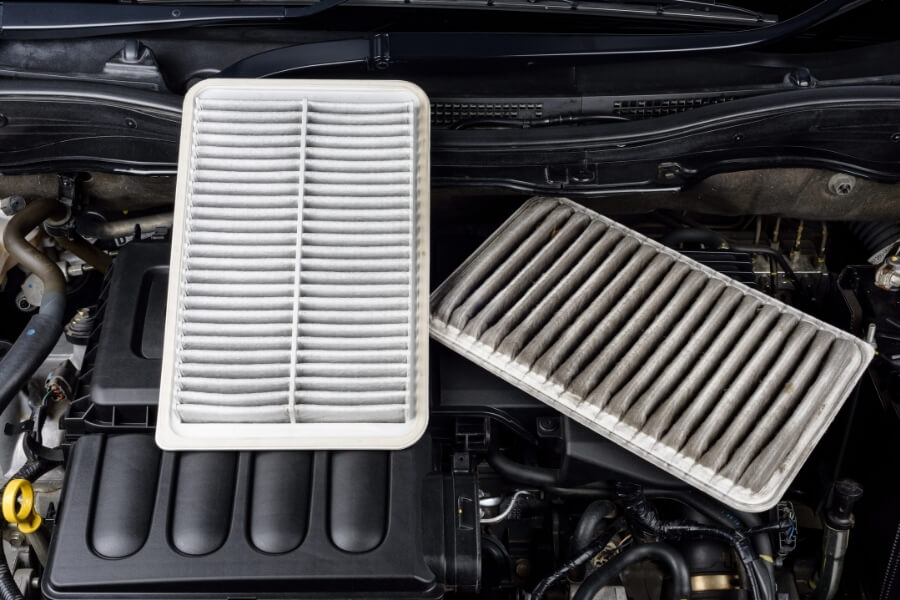 change old car air filters